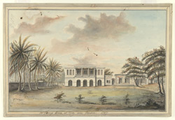 Mr Toring's house near Madras